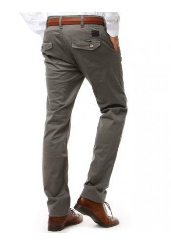 Světle béžové elegantní kalhoty Chinos pro pány
