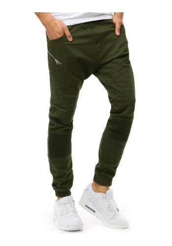 Sportovní pánské Joggery zelené barvy