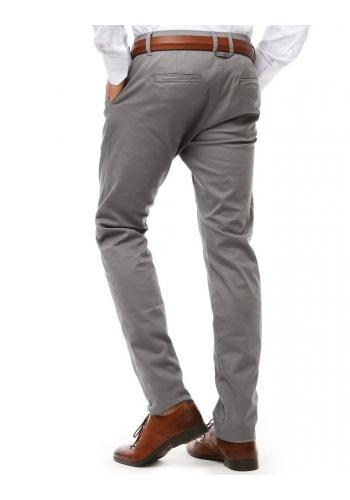 Klasické kalhoty Chinos pro pány v béžové barvě