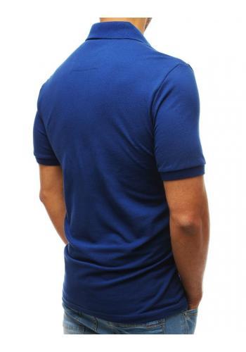 Bavlněná pánská polokošile tmavě modré barvy