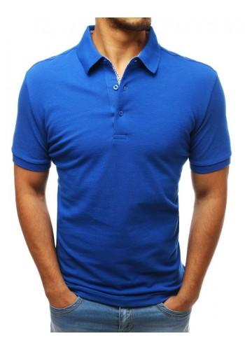 Bavlněná pánská polokošile modré barvy