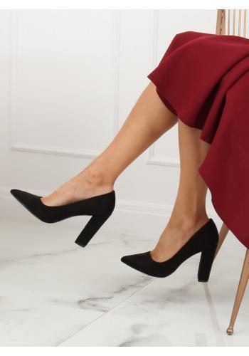 Korálové ombre lodičky na podpatku pro dámy