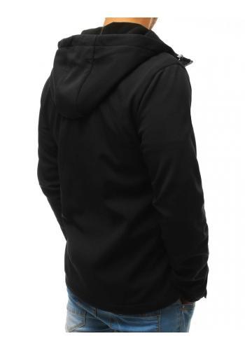 Přechodná pánská Bomber bunda černé barvy