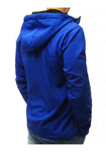 Přechodná pánská Softshell bunda černé barvy s kapucí