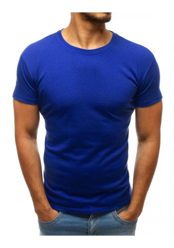 Tmavě šedé tričko s kulatým výstřihem pro pány