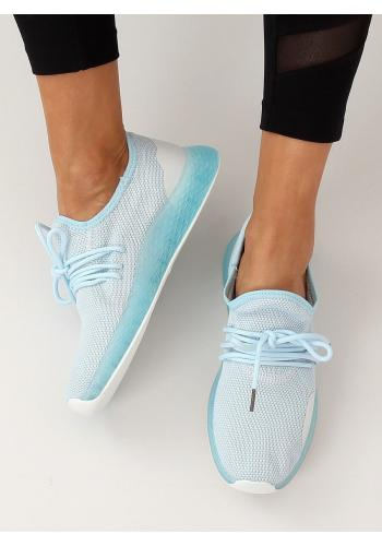 Světle modré stylové tenisky s kontrastními prvky pro dámy