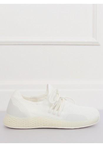 Stylové dámské tenisky bílé barvy