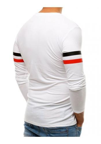 Bílé módní tričko s potiskem pro pány