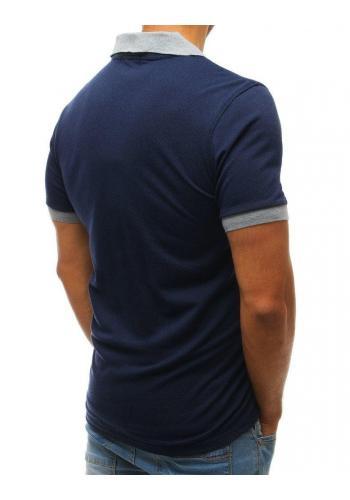 Klasická pánská polokošile tmavě modré barvy