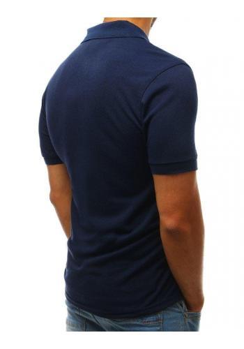 Pánské klasické polokošile v tmavě modré barvě