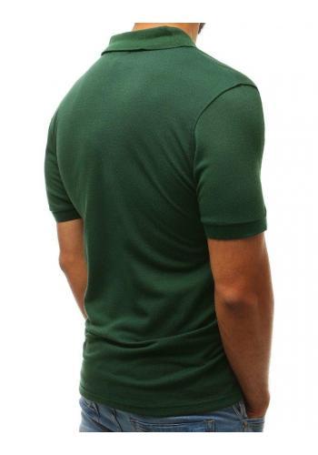 Klasická polokošile zelené barvy