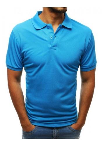 Pánská klasická polokošile v světle modré barvě
