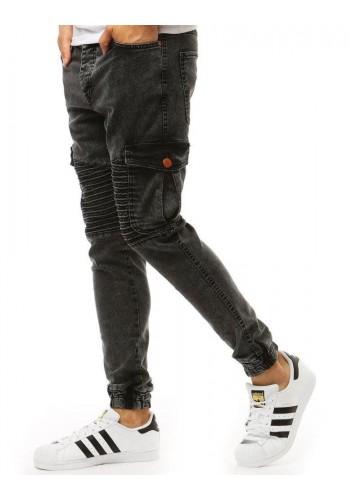 Pánské stylové Joggery v černé barvě