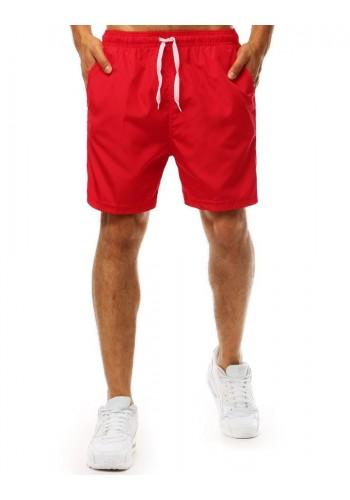 Červené módní kraťasy na koupání pro pány