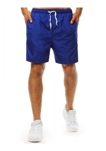 Pánské módní kraťasy na koupání v modré barvě