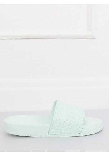 Mátové pěnové pantofle s tištěným vzorem pro dámy