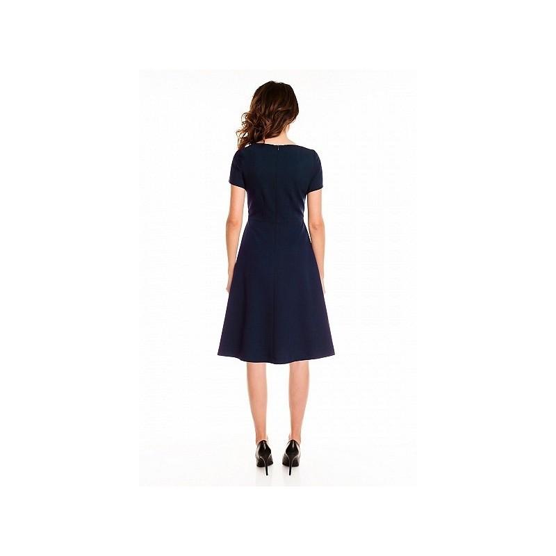 Dámské šaty - tmavě modré