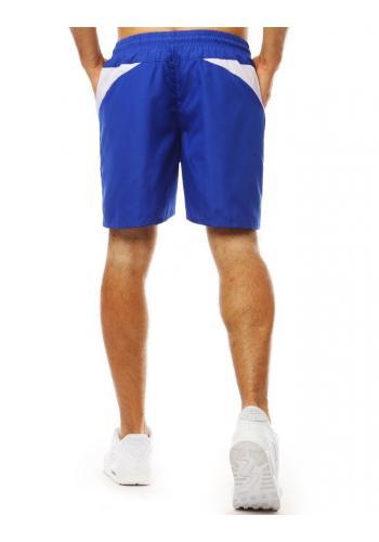 Modré módní kraťasy na koupání pro pány