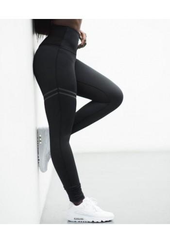 Černé sportovní legíny pro dámy