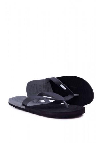 Černé módní žabky Big Star pro pány