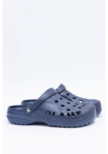 Pánské módní pantofle kroksy k bazénu v tmavě modré barvě