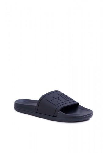 Černé gumové pantofle Big Star pro pány