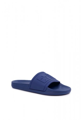 Gumové pánské pantofle Big Star tmavě modré barvy