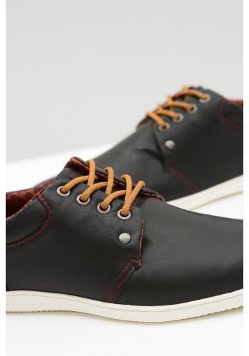 Černé módní tenisky pro pány