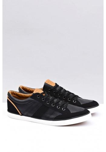 Pánské stylové tenisky v černé barvě