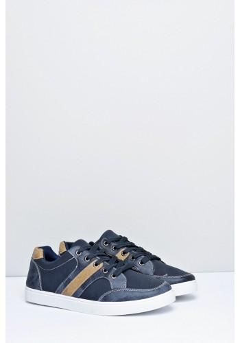 Tmavě modré stylové tenisky pro pány