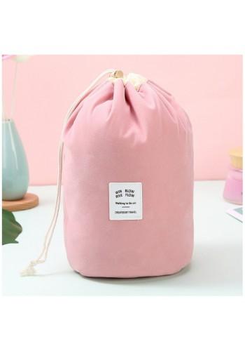 Růžová kosmetická kapsa
