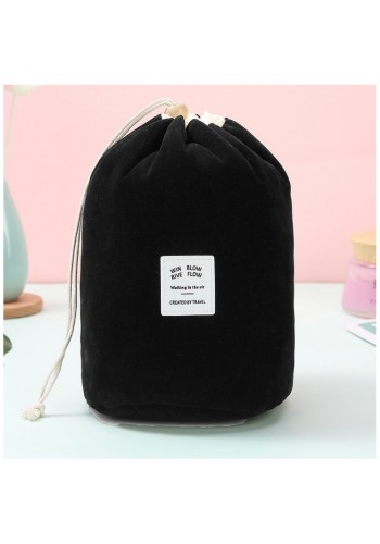 Kosmetická kapsa černé barvy