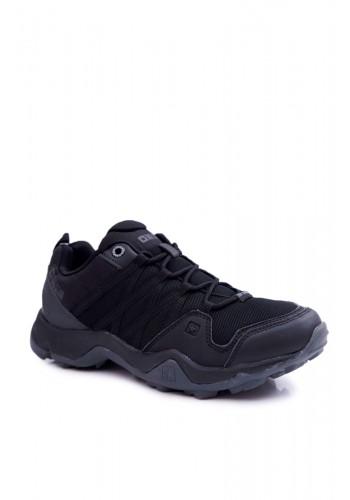 Černé trekingové boty Big Star pro pány