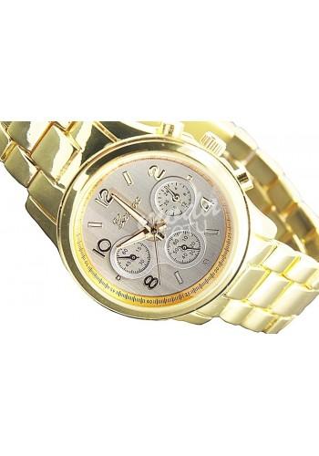 Dámské hodinky GENEVA - zlato-stříbrné