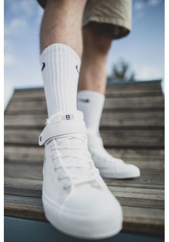 Pánské oteplené tenisky Big Star v bílé barvě
