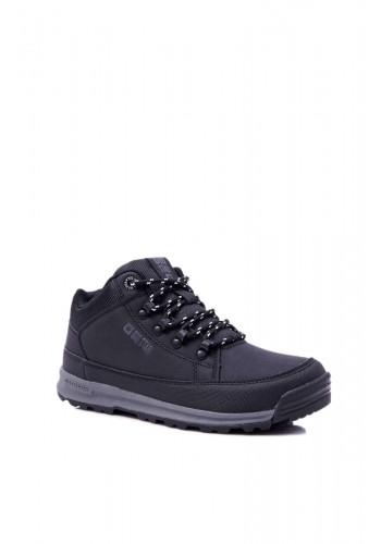 Pánská trekingová obuv Big Star v černé barvě