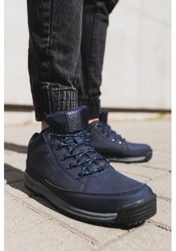 Pánská trekingová obuv Big Star v tmavě modré barvě