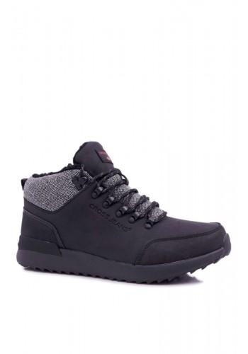 Černá trekingová obuv pro pány