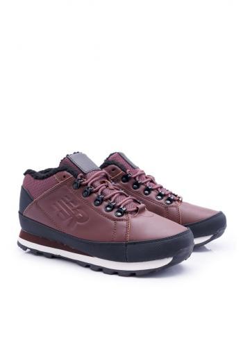 Hnědá trekingová obuv pro pány
