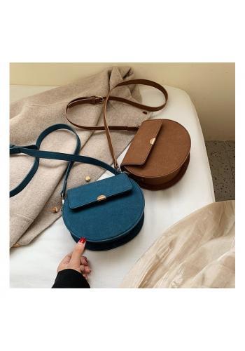 Módní dámská kabelka modré barvy