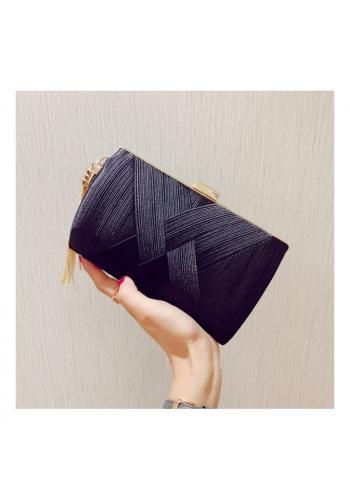 Dámská večerní kabelka v černé barvě