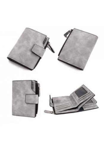 Dámská malá peněženka v šedé barvě