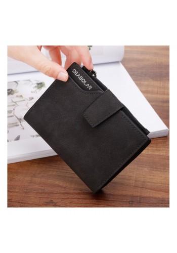 Černá malá peněženka pro dámy