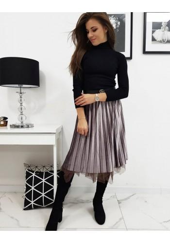 Růžová oboustranná sukně s třpytkami pro dámy