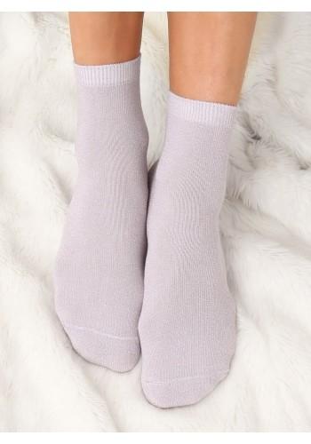 Perlové třpytivé ponožky pro dámy