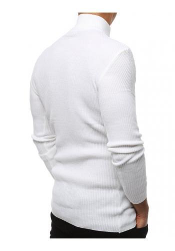 Teplé pánské roláky bílé barvy