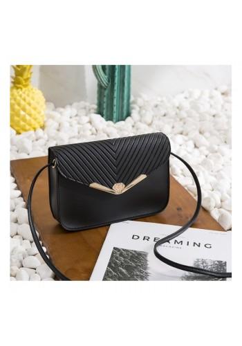 Dámská elegantní mini kabelka v černé barvě