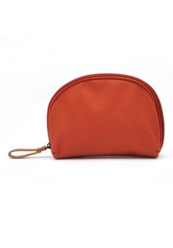 Dámská malá kosmetická taška v růžové barvě