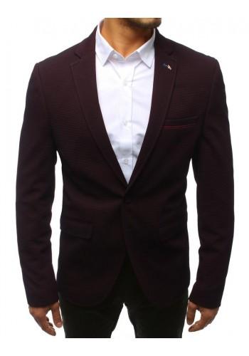 Pánské neformální sako v černé barvě