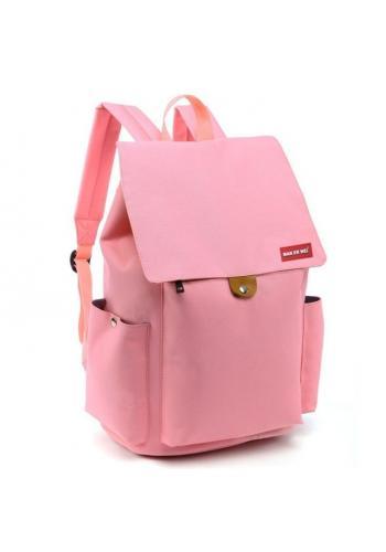 Růžový sportovní batoh s rukojetí ve slevě